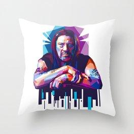 Hard-Boiled Trejo Throw Pillow