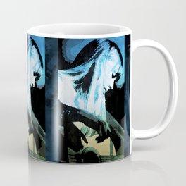 Joni Mitchell Watercolor Coffee Mug