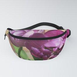 Purple tulips Fanny Pack