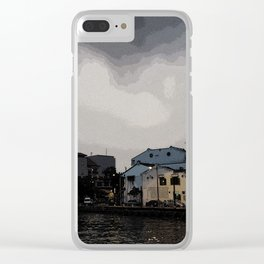 Evening at the Waterfront Clear iPhone Case