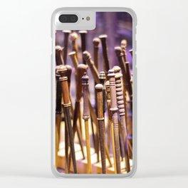 Magic Wands Clear iPhone Case