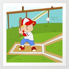 Non Olympic Sports: Baseball Art Print