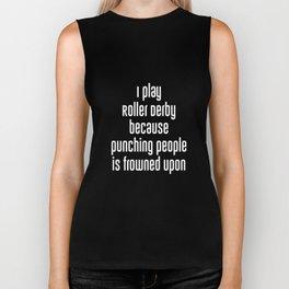 Don't Be a PussyCat Play Roller Derby Fan T-Shirt Biker Tank