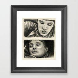 Merlin and Arthur - Just Hold Me Framed Art Print