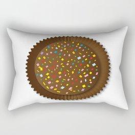 Chocolate Box Sprinkles Rectangular Pillow
