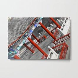 Chinese Pagoda Metal Print