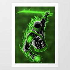 Snake Eyes GL Art Print