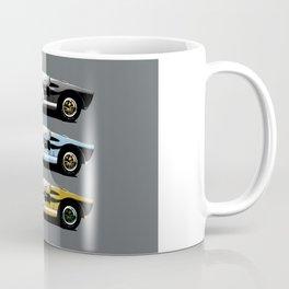 Three racing cars Coffee Mug