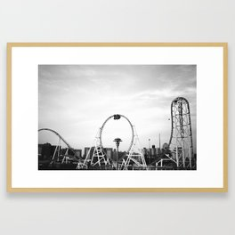 Thunderbolt Framed Art Print
