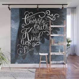 Six of Crows book quote design Wall Mural