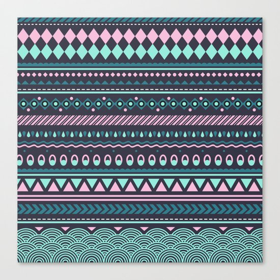 Modern Pattern Canvas Print