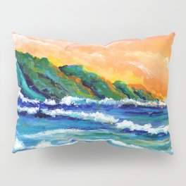Romantic Kauai Sunset Pillow Sham