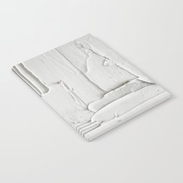 Relief [3]: an abstract, textured piece in white by Alyssa Hamilton Art  Notebook