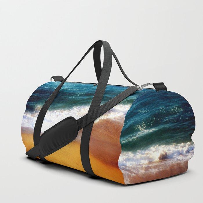 Beach at Sunset Duffle Bag