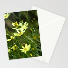 Wild Yellow Stationery Cards