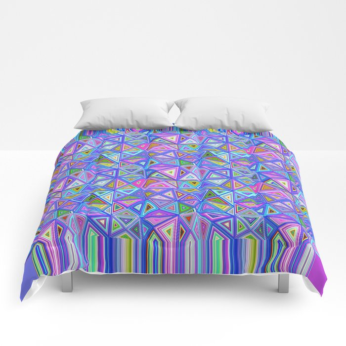 Patchwork Triangles Comforters