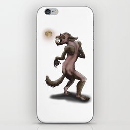 Hombre Lobo / Wolfman iPhone Skin