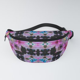 PATTERN ABSTRACT LILY SHINING COLOR Fanny Pack