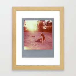 Jacs Fishburne - Impossible Project Polaroid Framed Art Print