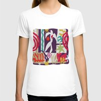 matisse T-shirts featuring inspired to Matisse t-shirt (violet) by Chicca Besso