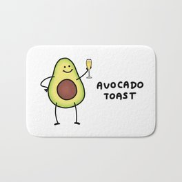 Avocado Toast Bath Mat