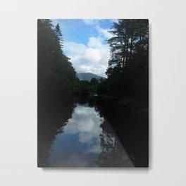 Irish Reflection Metal Print