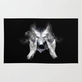 The Cry Wolf Rug