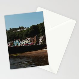 Colourful town of Tobermory, Isle of Mull, Scotland  Stationery Cards