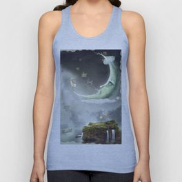Night. Time of miracles and magic Unisex Tank Top