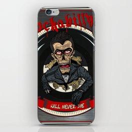 Rockabilly will never die iPhone Skin