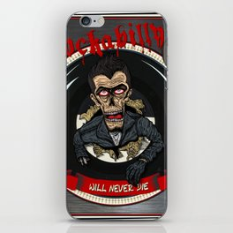 Rockabilly will never die iPhone Skin