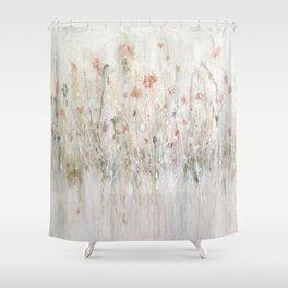 little pink Shower Curtain