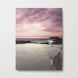 Morning Swim Metal Print