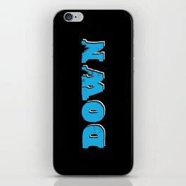 DOWN. iPhone Skin