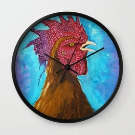 Rooster, Gallo, Galo, Gallus Wall Clock