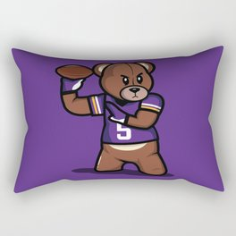 The Victrs - Teddy Football Rectangular Pillow