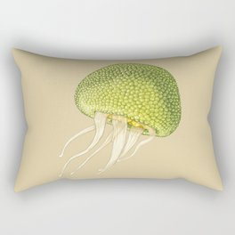 Jj - Jellyjack // Half Jellyfish, Half Jackfruit Rectangular Pillow