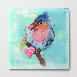 Love Bird Metal Print