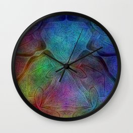 Fanning Wall Clock