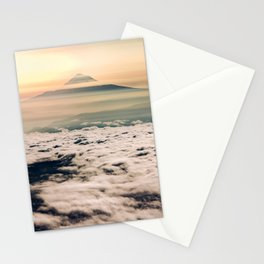 The West is Burning - Mt Hood Stationery Cards