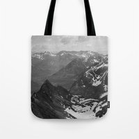 jon snow Tote Bags featuring Archangel Valley by Kevin Russ