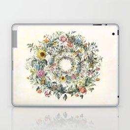 Circle of Life Cream Laptop & iPad Skin