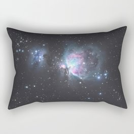 Great Orion Nebula M42, in the constellation of Orion, Milky Way Rectangular Pillow