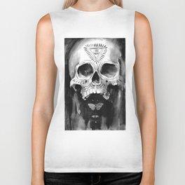 Shamanic Skull Biker Tank