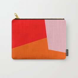 red orange pink Carry-All Pouch