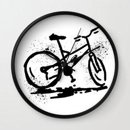 Rest bike Wall Clock