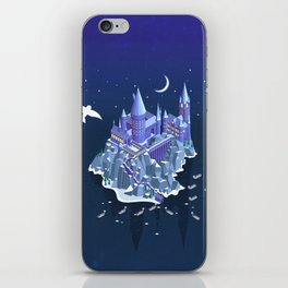 Hogwarts series (year 1: the Philosopher's Stone) iPhone Skin
