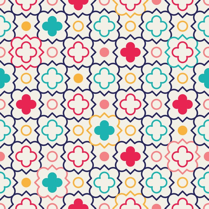 Cute Eastern Pattern Duvet Cover