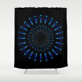 Native American Mandala Shower Curtain