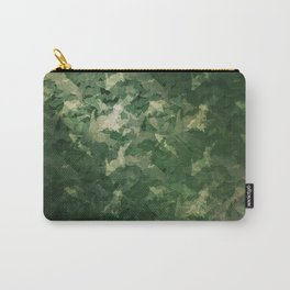 Upper Peninsula Camo Repeating Pattern Carry-All Pouch